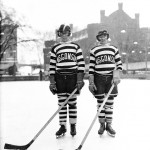 Hockey players, 1929. #040502as139