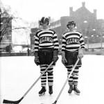 Hockey players, 1929. #040502as139