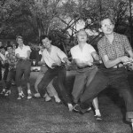 Tug of war contest, 1958. #040502as210