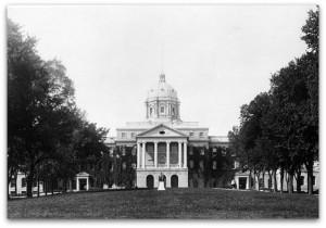Bascom Hill, c. 1910