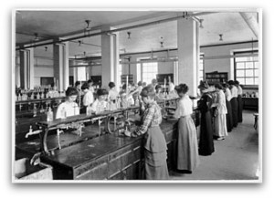 Food Chemistry Lab, c. 1915