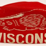 Snarling Badger hat. Memorabilia_00674