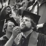 UW commencement, 1970s. #S05308