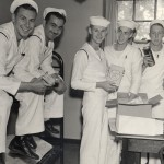 Navy cadets receive care packages, 1942, #S05436