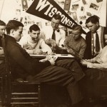 Men playing cards, 1908. #S08805