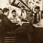 Men playing cards, 1908. #S08805