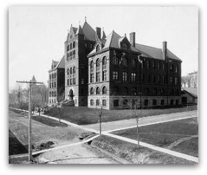 Science Hall, c. 1887