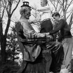 Lincoln Statue on Bascom Hill, #uwar00159