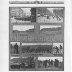 UW vs. MN, Nov. 1909. 1911 Badger yearbook.