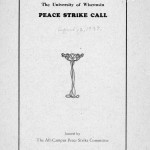 All-Campus Peace Strike, 1937