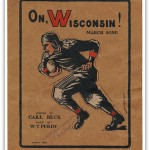 "Original ""On Wisconsin"" sheet music"
