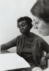 Poet Gwendolyn Brooks, 1969