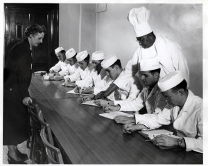 Gulley's chefs course, c. 1940s
