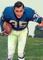 Ameche plays for the Colts