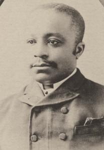 William T. Green pictured in Souvenir Book, 1892