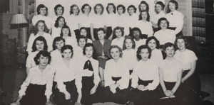 Lorraine Hansberry pictured with Langdon Manor, 1948