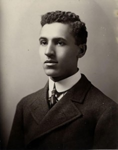 Marshall pictured in The Badger, 1907