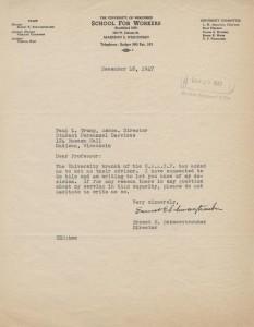 NAACP Correspondence, 1947