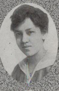 Raimey pictured in The Badger, 1919