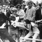 Vicki Gabriner, Dow protest