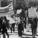 Bakke protest