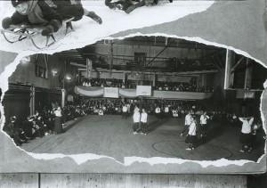UW women's basketball, c. 1916.