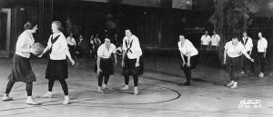 Women's basketball, c. 1925.