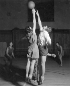 Women's basketball, 1935.