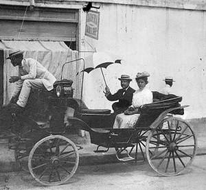 <em>Mary &amp; Thomas Brittingham in Santiago, Cuba. 1908. #WI.bls0284</em>