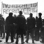 CIA protest