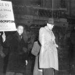 Draft protest, 1945