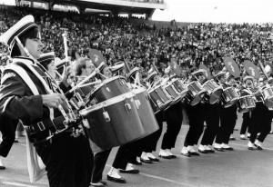 UW band drumline
