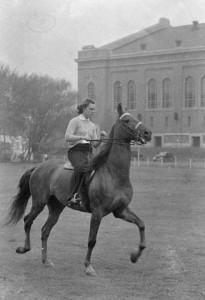 Equestrian, c. 1935.