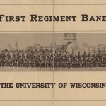 First Regiment band program, 1915. Page 1.