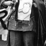 Guerrilla theater protest