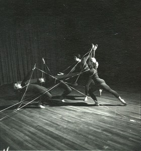 Dance department performance, c. 1950.
