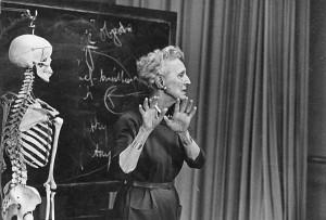 Margaret H'Doubler, c. 1965.