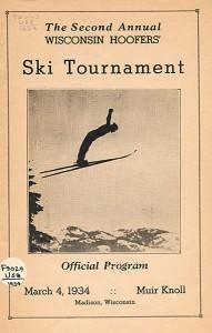 Ski tournament program, 1934. #dn04050701