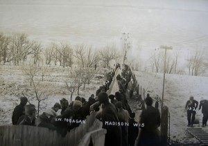 Toboggan run, c. 1911. #S07723