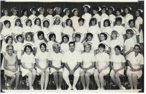 Above: MGH Class of 1969. Both images from the Meriter Foundation Archives.