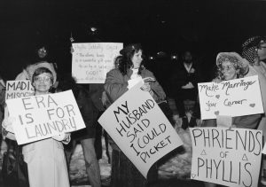 Phyllis Schlafly protest