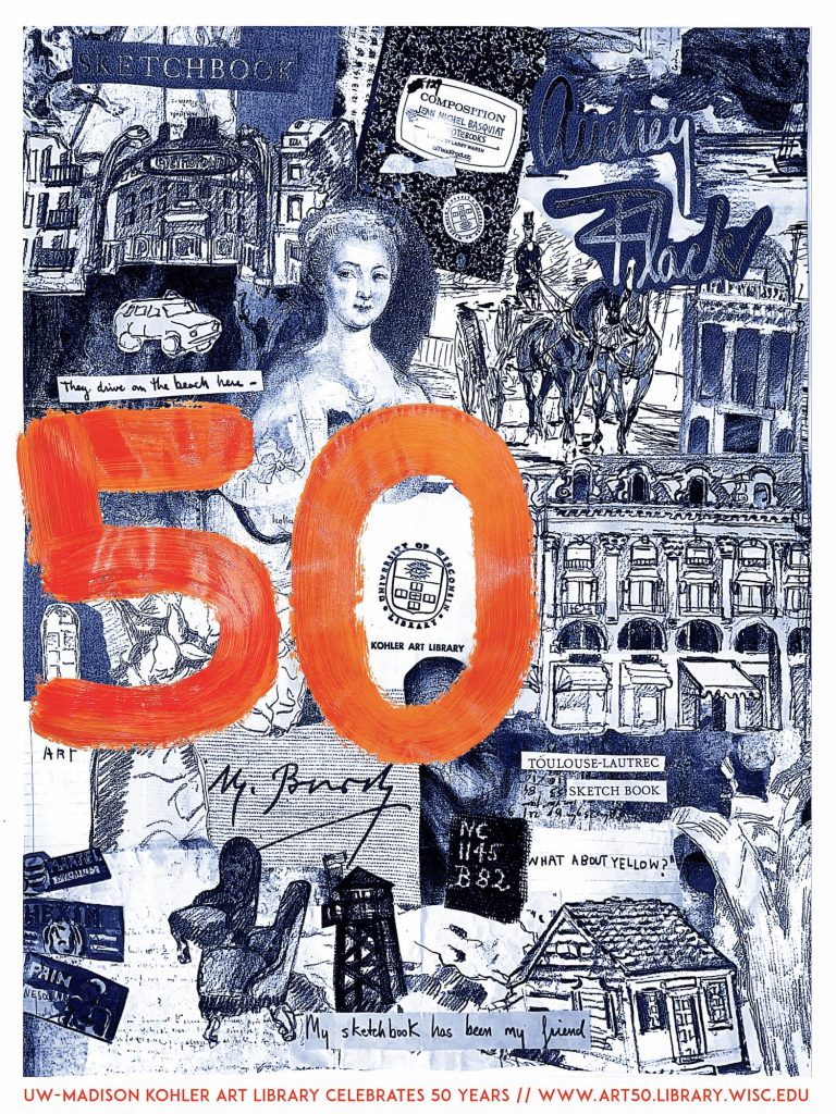 50th Anniversary Poster design by Abby Meyer