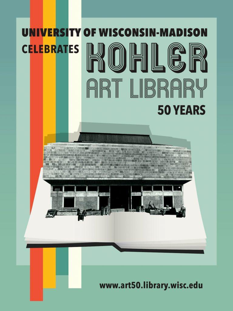 50th Anniversary Poster design by Arella Warren