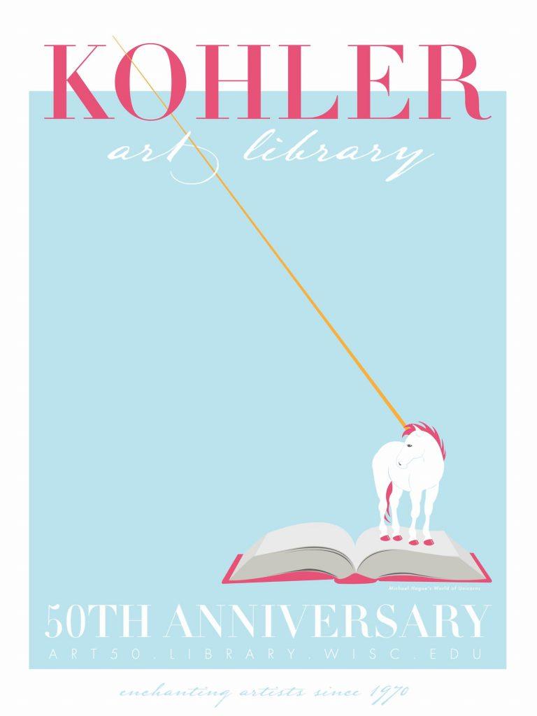 50th Anniversary Poster design by Geneva Kinzer