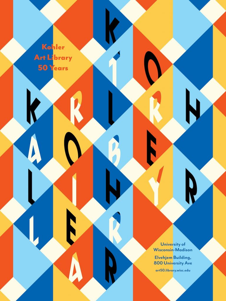 50th Anniversary Poster design by Lili Sarajian