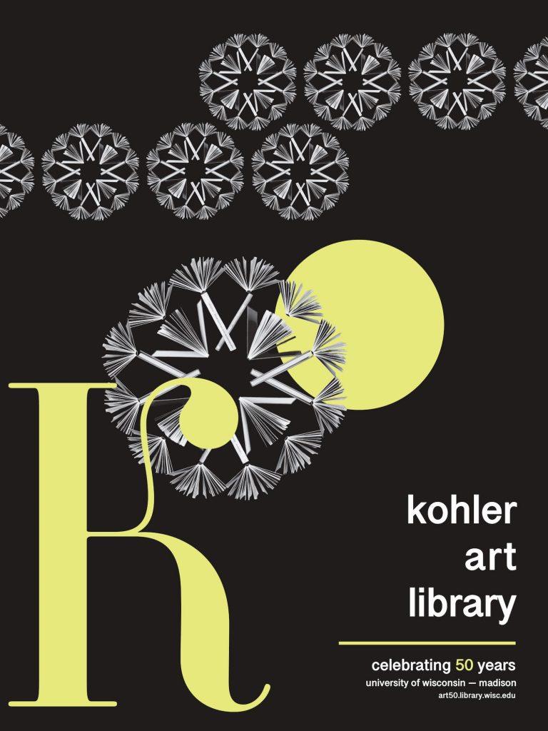 50th Anniversary Poster design by Madeleine Freitag