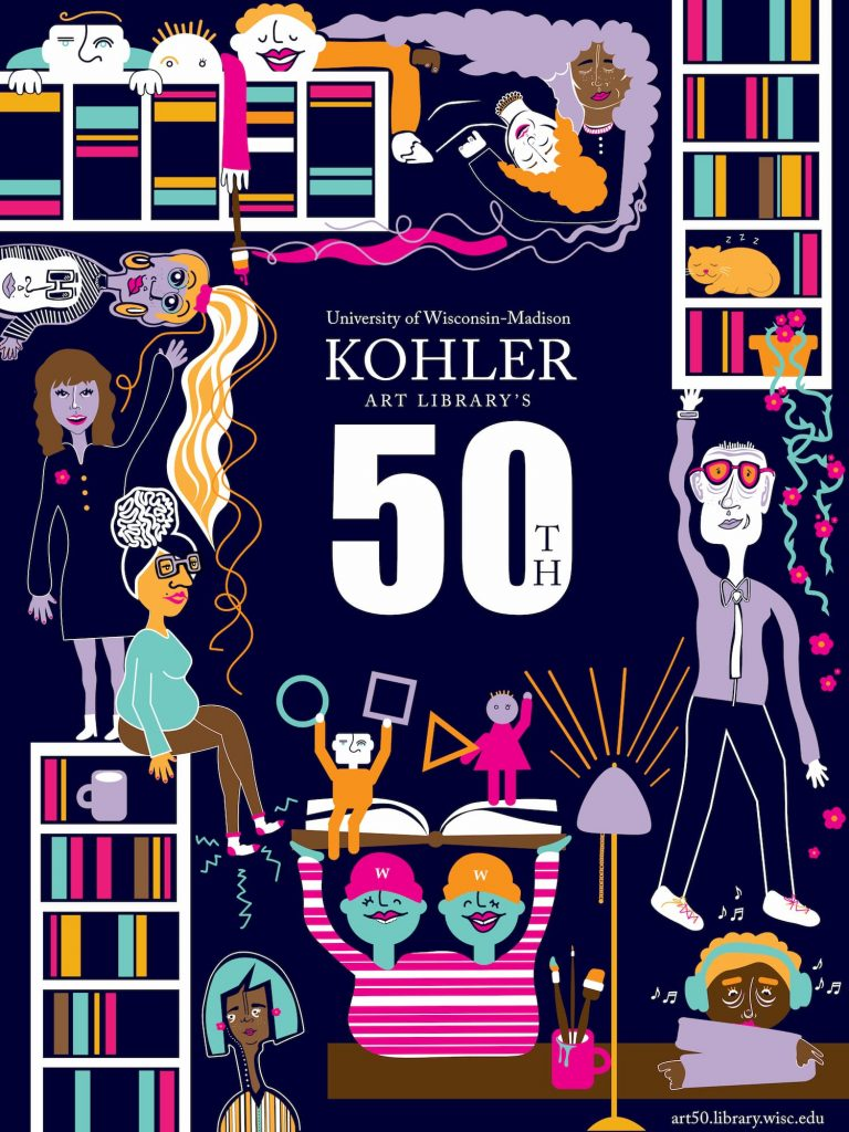 50th Anniversary Poster design by Maria Rantis