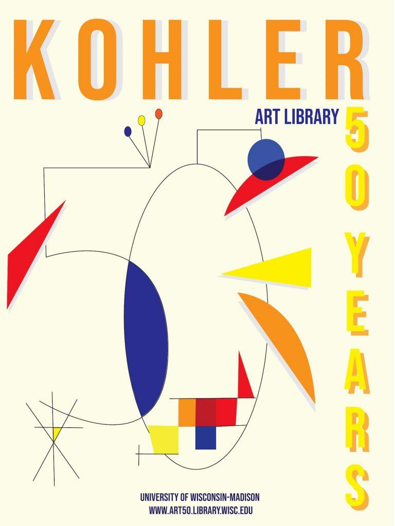50th Anniversary Poster design by Maya Allan