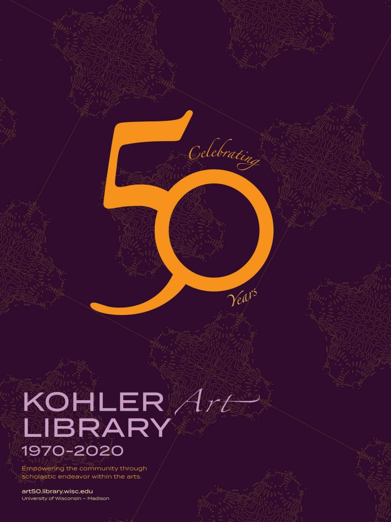 50th Anniversary Poster design by Tiffany Laxton
