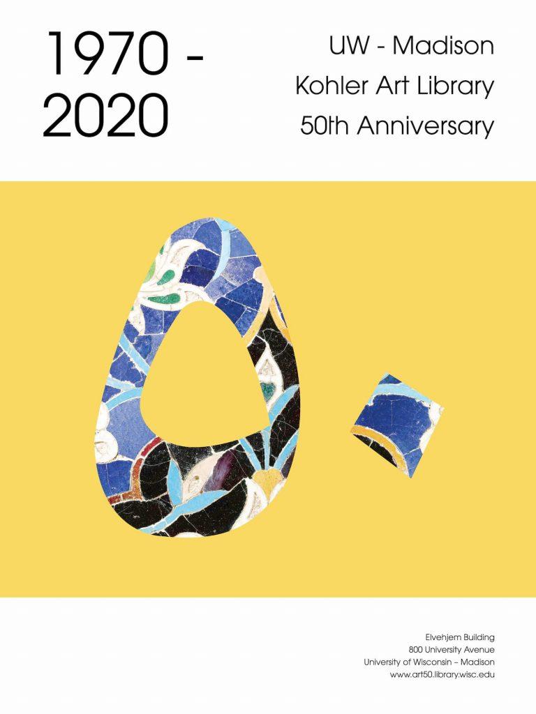 50th Anniversary Poster design by Vanessa Weeden